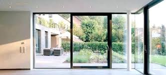 exterior glass wall monarch walls and folding doors cost accordion frameless 1 exte