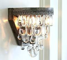 sconces wall sconce with crystals wall sconce chandelier fascinating chandelier wall sconce crystal drop pottery