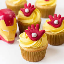 Avengers Endgame Inspired Iron Man Cupcakes Editorials Of