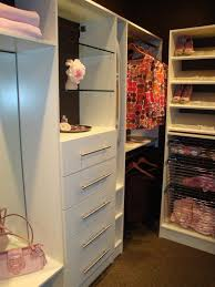 drawers this is a light airy solution for a walk in storage closet tower