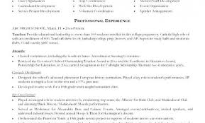 Samples Of High School Resumes High School Resume Objective Examples