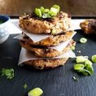 asian inspired tuna cakes