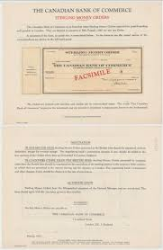 """jeder notar ist bei der gestaltung seiner. Seltenes Scheckvordruck Muster Canadian Bank Of Commerce Um 1980 132805 Nr 333605170895 Oldthing Papier Dokumente"