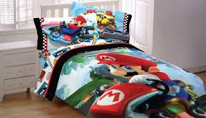 Super Mario Bedroom Nintendo Mario Kart 8 Twin Full Reversible Comforter Amazonca