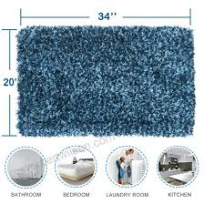 large bath mats non slip bathroom rugs 20x 34 with microfiber shower tubs mat absorbent