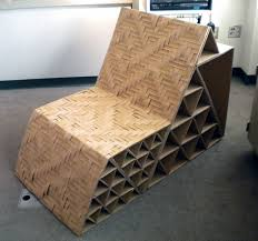 cardboard furniture design. cardboard chair danni design furniture