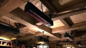 outdoor wall heater overhead heaters free standing and mounted ceiling patio electric gas