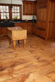 colonial pine kitchen floors by hull forest