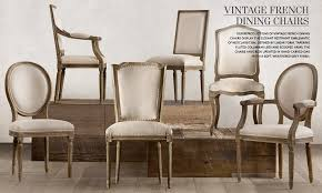 french dining chairs. Vintage French Dining Chairs Restoration Hardware E