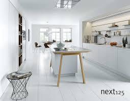 Ihre neue next125 Küche Küche nx800 mit Schichtstoff Front in weiß