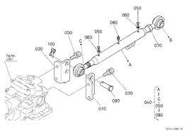 parts for kubota b26 tractor loader backhoes kubota 10211433 b26 top link top link bracket pto protector 3 point linkage top link