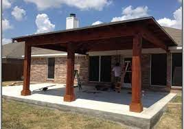attached covered patio to house patios