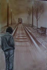 Image result for خدا حافظی در ایستگاه قطار