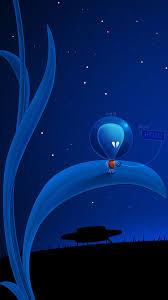 blue aliens iphone 6 wallpaper
