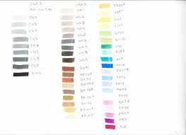 Blick Studio Markers Color Chart Markers At A Discount Save Money On Your Markers Academy