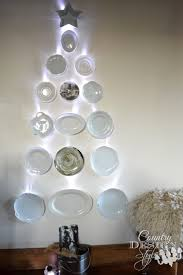 Dish Christmas Tree - Country Design Style