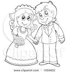 Wedding Couple Drawing At Getdrawings Com Free For Personal Use