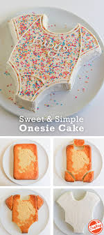 How To Make The Easiest And Cutest Baby Shower Cake Ever Baby