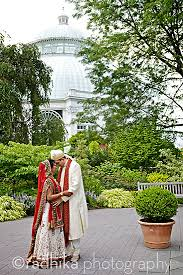 bronx botanical garden wedding. NEW YORK: Indian Wedding At The Bronx Botanical Garden. Garden