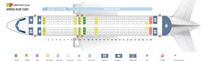 Seat Map Airbus A320 200 Tap Portugal Best Seats In The Plane