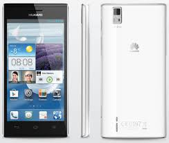 Huawei Ascend P2 being on a phone with ...