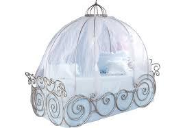 Disney Princess Metal 4 Pc Twin Carriage Bed