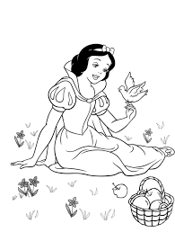 Small Picture Snow White Coloring Book Coloring Pages Kids