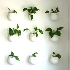 wall plant pots wall mounted planters indoor wall hanging plant wall plant wall flower pots uk