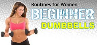 women s beginner dumbbell exercise routine