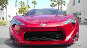 Scion FR-S Concept built by Five Axis - YouTube