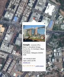 google main office location. Their Map Making Division Sitting In Above Facility Supplies The Latest Images To Digitization Shops Like Global Logic, Who Create Local Data Google Main Office Location A