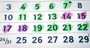 Pregnancy Callendar Pregnancy Calendar Background