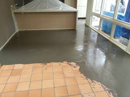 installing ceramic floor tile on concrete nice home design can you lay