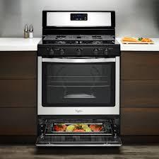Gas Kitchen Ranges Whirlpool Wfg505m0b 30 Inch Freestanding Gas Range With Broiler