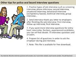 Police Interview Questions And Answers Police Oral Board Interview Questions