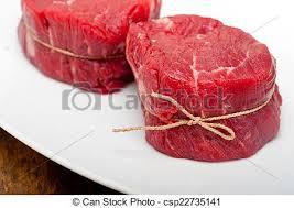 filet mignon raw. Delighful Raw Raw Beef Filet Mignon  Csp22735141 Throughout Filet Mignon Raw I