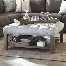 square storage ottoman with tray amazing best storage ottoman coffee table ideas on in ottoman with