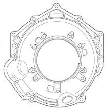 novak conversions 4l60e 4l60e deep bellhousing for 300mm converter