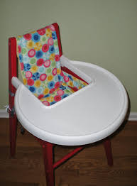 how to make a restaurant high chair cover free pattern