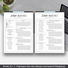 Ms Office Templates Resume Modern Modern Creative Resume Cv Template Cover Letter Instant Download