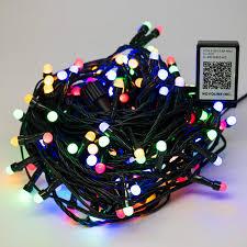 Mini Globe Lights Amazon Com 200 Light Mini Globe Multi Color Led String
