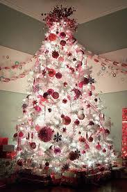 Red And Silver Christmas Decorations  DesignCornerRed Silver And White Christmas Tree