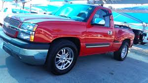 2005 Silverado Sport Side 1500 Red Truck V8 Leather 75k miles TDY ...