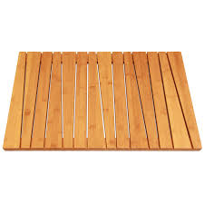 Bamboo Bathroom Rug Bamboo Shower Mat Or Floor Mat At 25 Discount