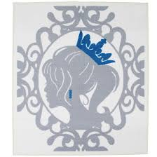 princess area rug blue