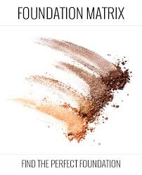 Foundation Matrix Find Your Perfect Foundation Shade Match