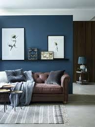 Brown And Blue Living Room Best O Azul Já Amado Por Muitos é Cor Tendência 48 Agora Mais