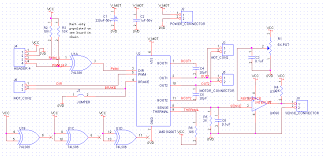 reaching the next step in motion control and sensor software the schematic above shows an interface to an lm18200d 3 amp dc motor controller also depicted are a simple voltage reference and single rail comparitor