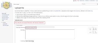 Wiki Upload File Resolved Cannot Upload Files With Non Latin Names Upload