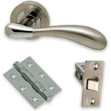 Door furniture Interwood Handle Packs packs Contain Handles Latches And Hinges Early Settler Door Handles Door Furniture Oakwood Doors And Spray Finishes